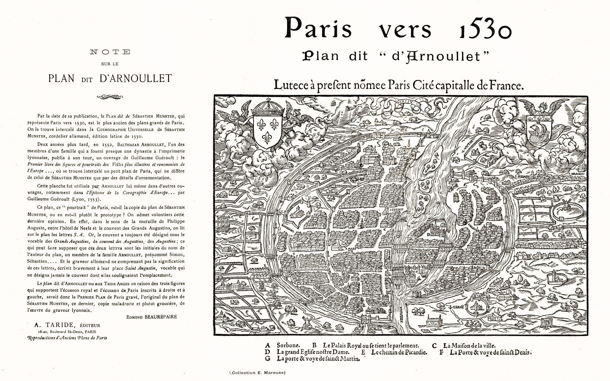 Paris Circa 1530