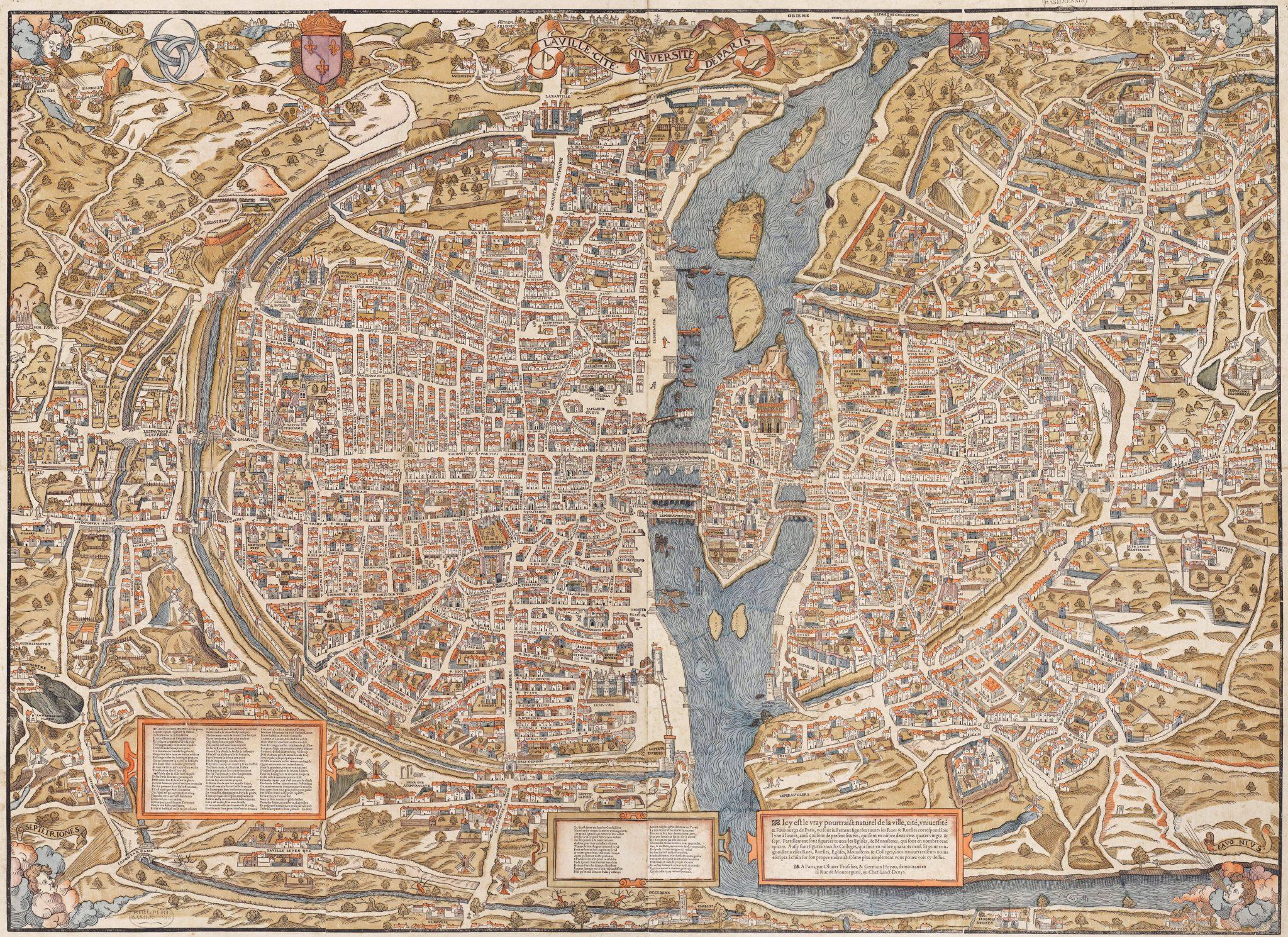 Paris Circa 1550