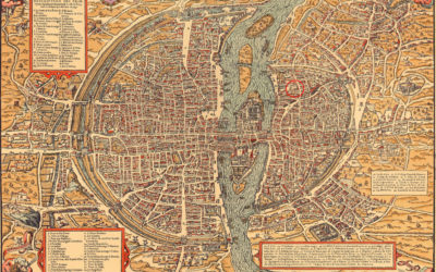 Map Of France 900 Ad.Old Maps Of Paris