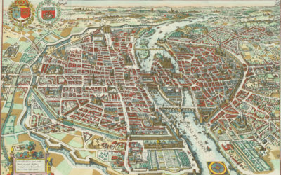 Paris 1615 Plan De Mérain