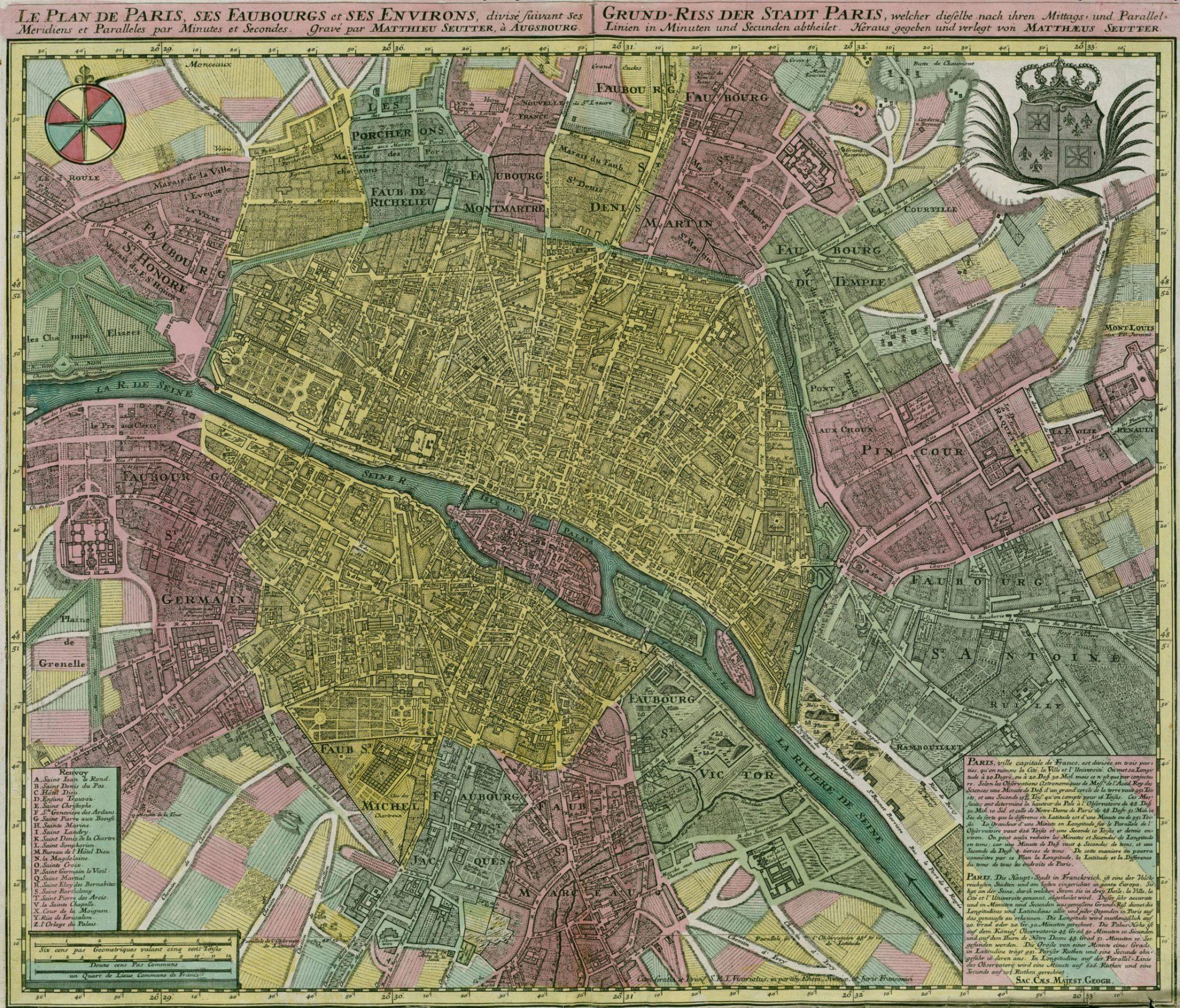 Paris Circa 1750